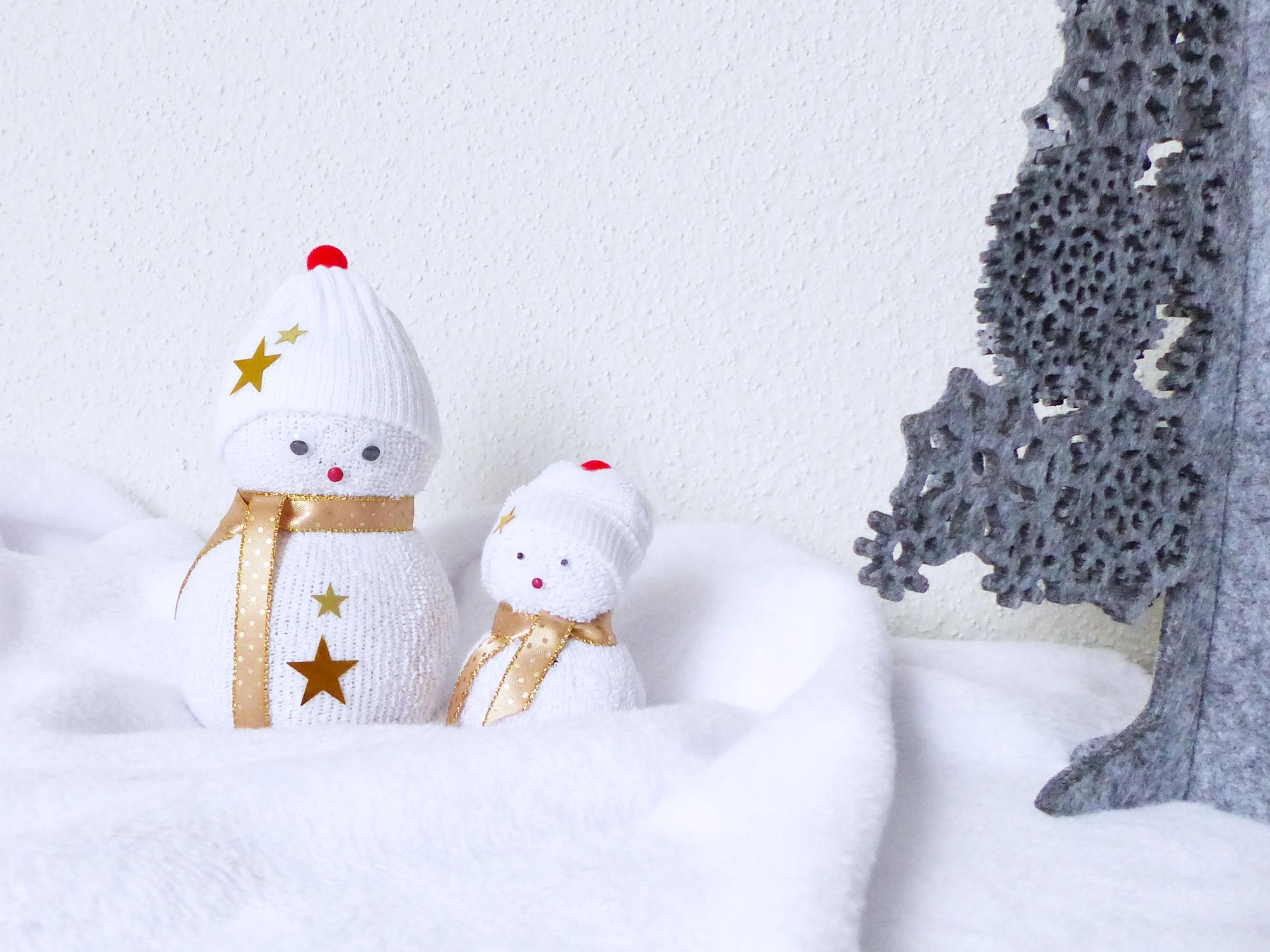 Autour de Marine - DIY Bonhomme de neige