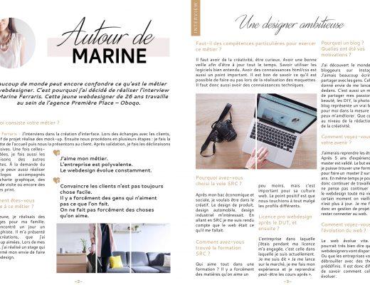 Autour de Marine - Interview Theo Plawinski