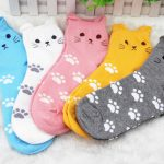 Aliexpress cat socks - Autour de Marine