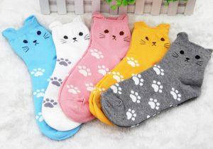 Aliexpress cat socks - Autour de Marine