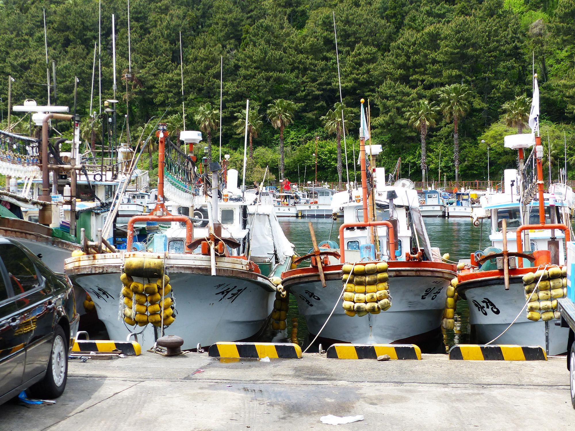Île de Jeju - Autour de Marine