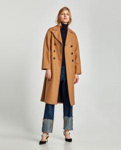 Manteau hiver Zara - Autour de Marine