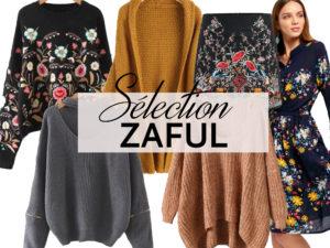 Selection Zaful collection hiver - Autour de Marine