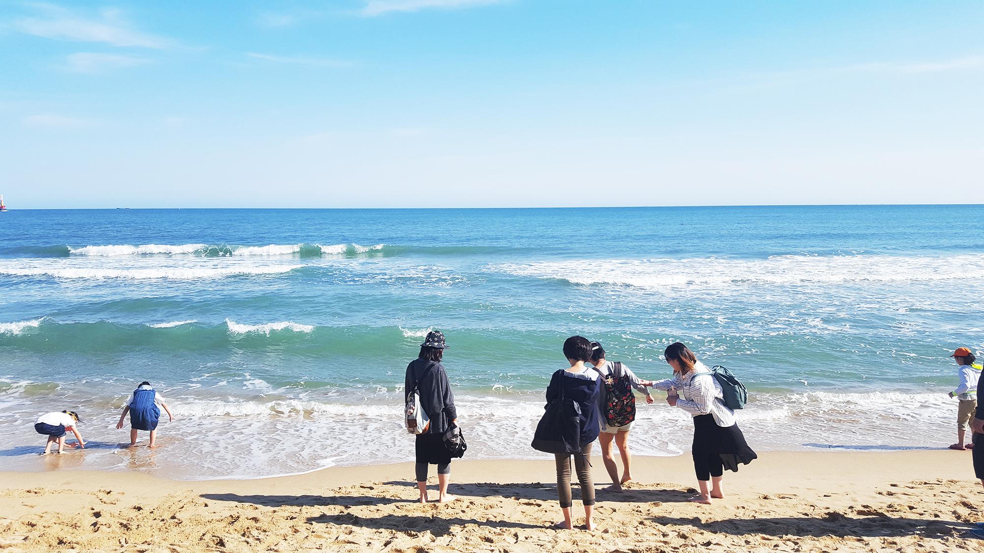 Haeunde beach busan - Autour de Marine