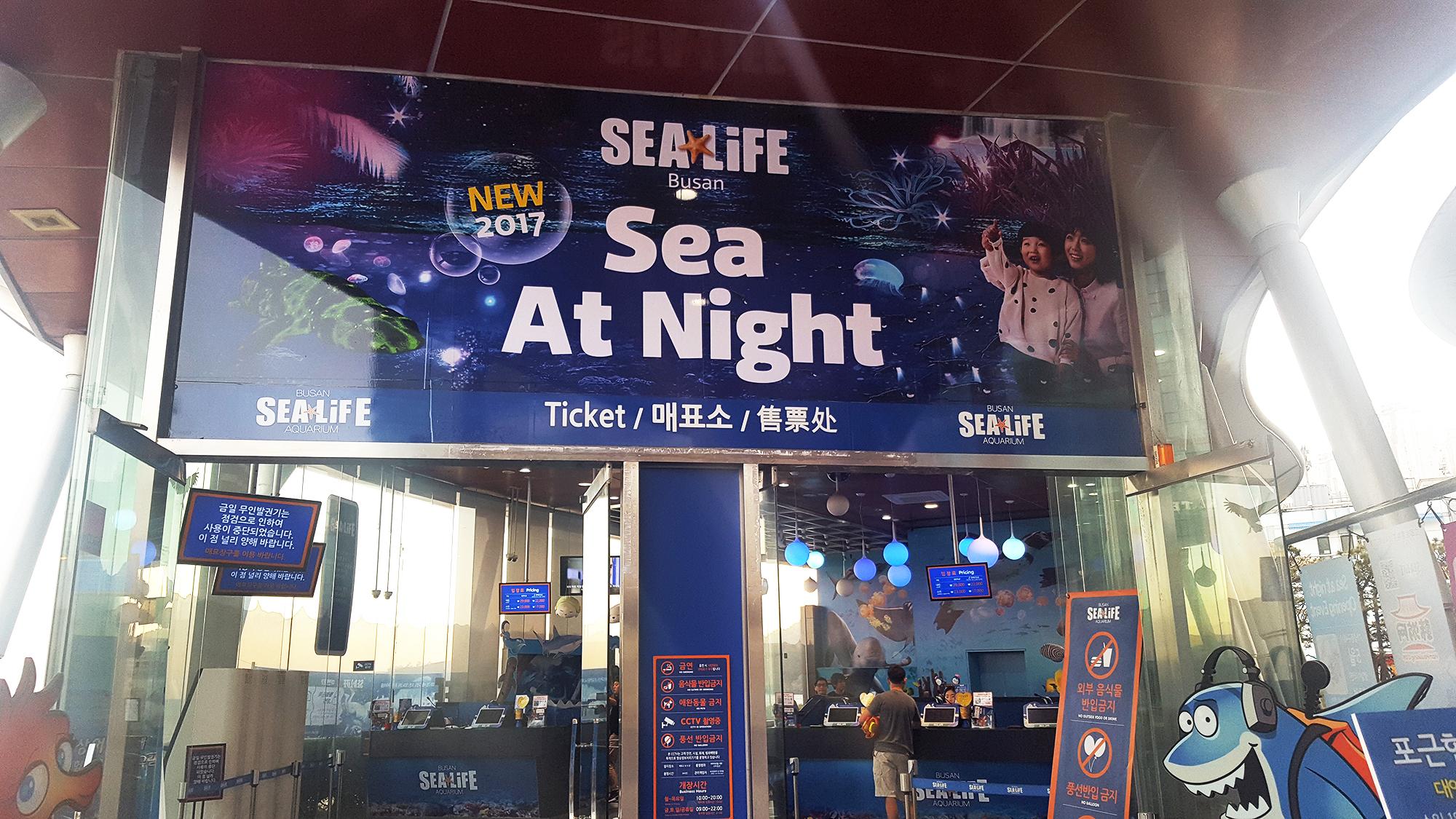 Sea Life Busan - Autour De Marine