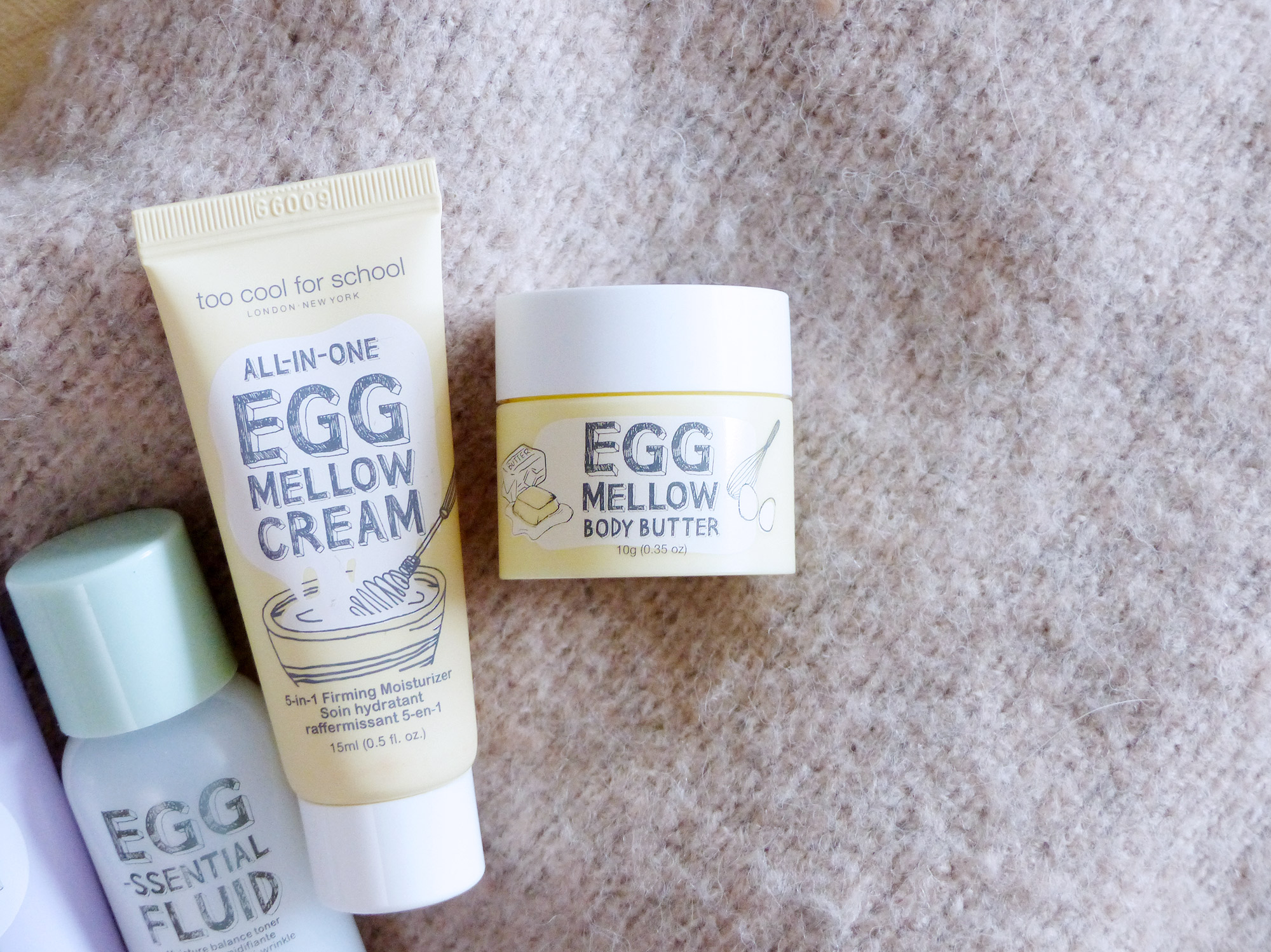 Too Cool For School Egg Mellow Body Cream - Autour de Marine