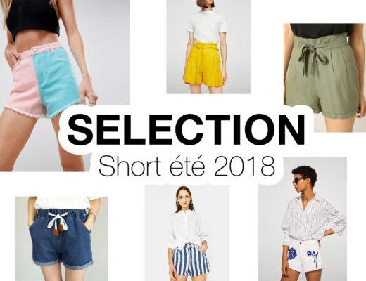 Sélection short été - Autour de Marine