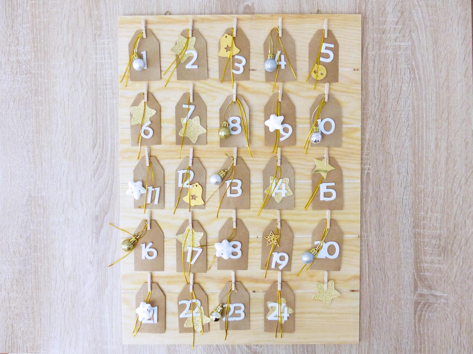 DIY Noël, calendrier de l'avent couple - Autour de Marine