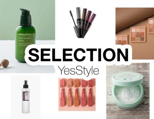 Sélection cosmétiques coréens YesStyle