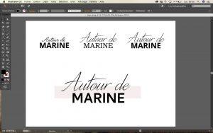 Autour de Marine - Photo webdesign