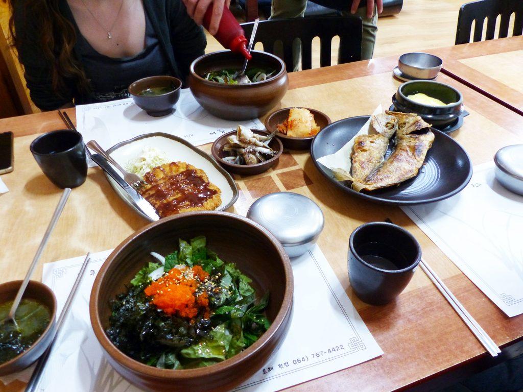 Restaurant île de Jeju - Autour de Marine