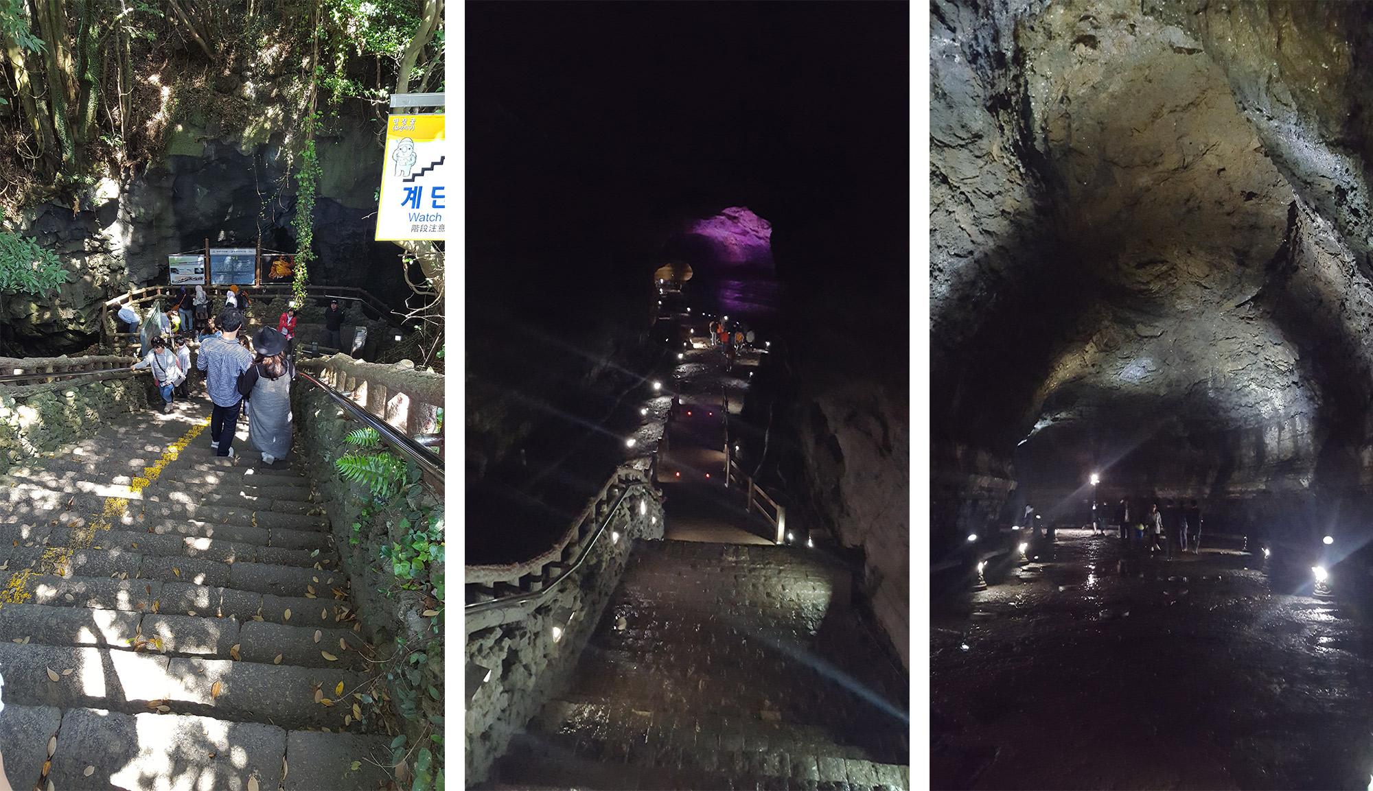 Tunnel Manjanggul Jeju - Autour de Marine