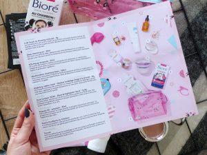 Birchbox édition limité Asie, menu- Autour de Marine