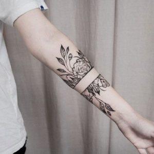 Sélection tatouages - Autour de Marine