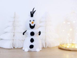 DIY Olaf en chaussettes de la Reine des neiges - Autour de Marine