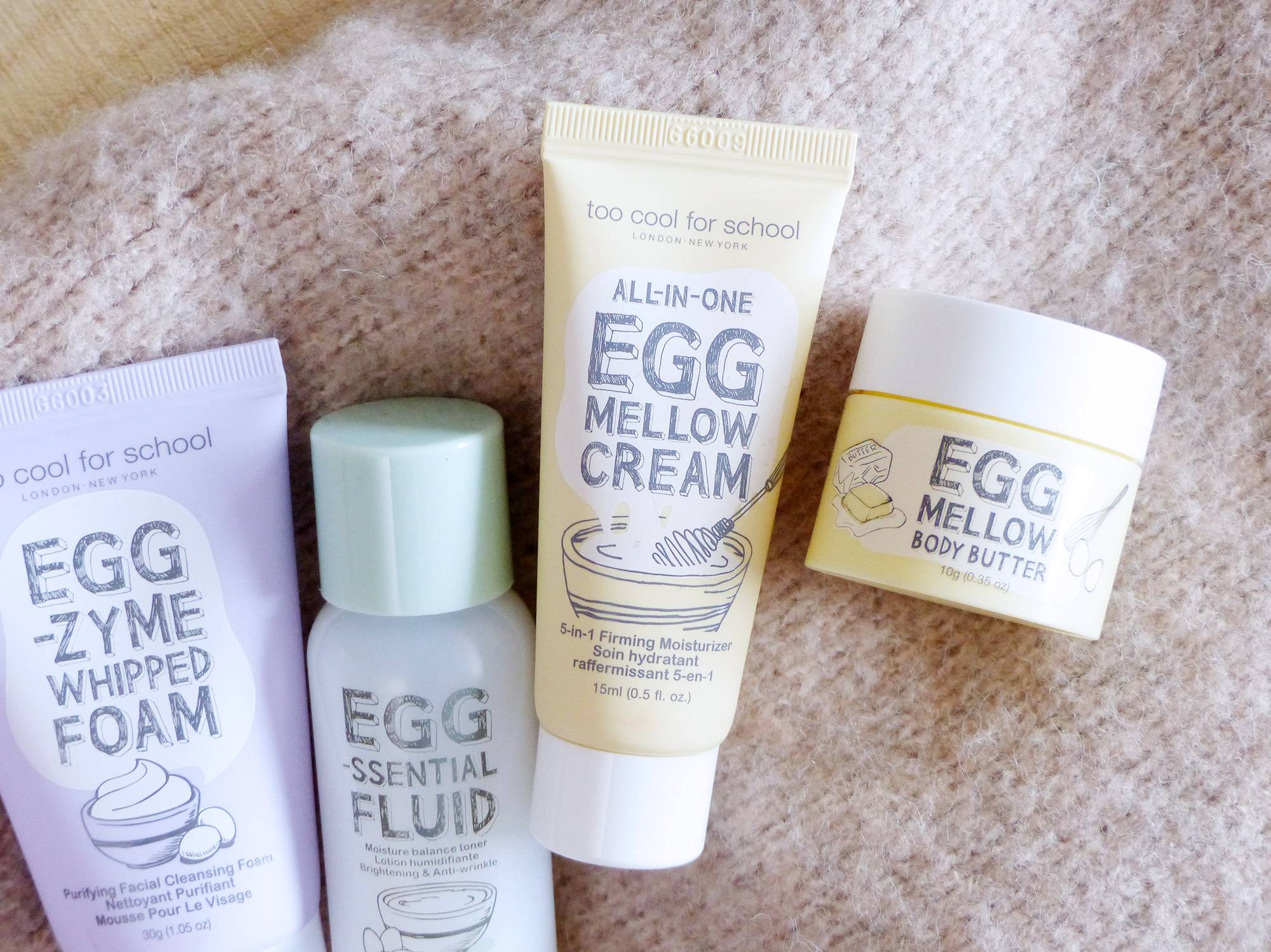 Too Cool For School Egg Mellow Cream - Autour de Marine