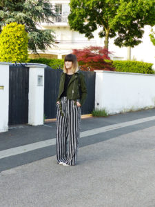 Look pantalon Palazzo - Autour de Marine