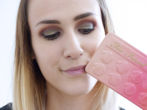 Sweet Peach Too Faced, tuto makeup