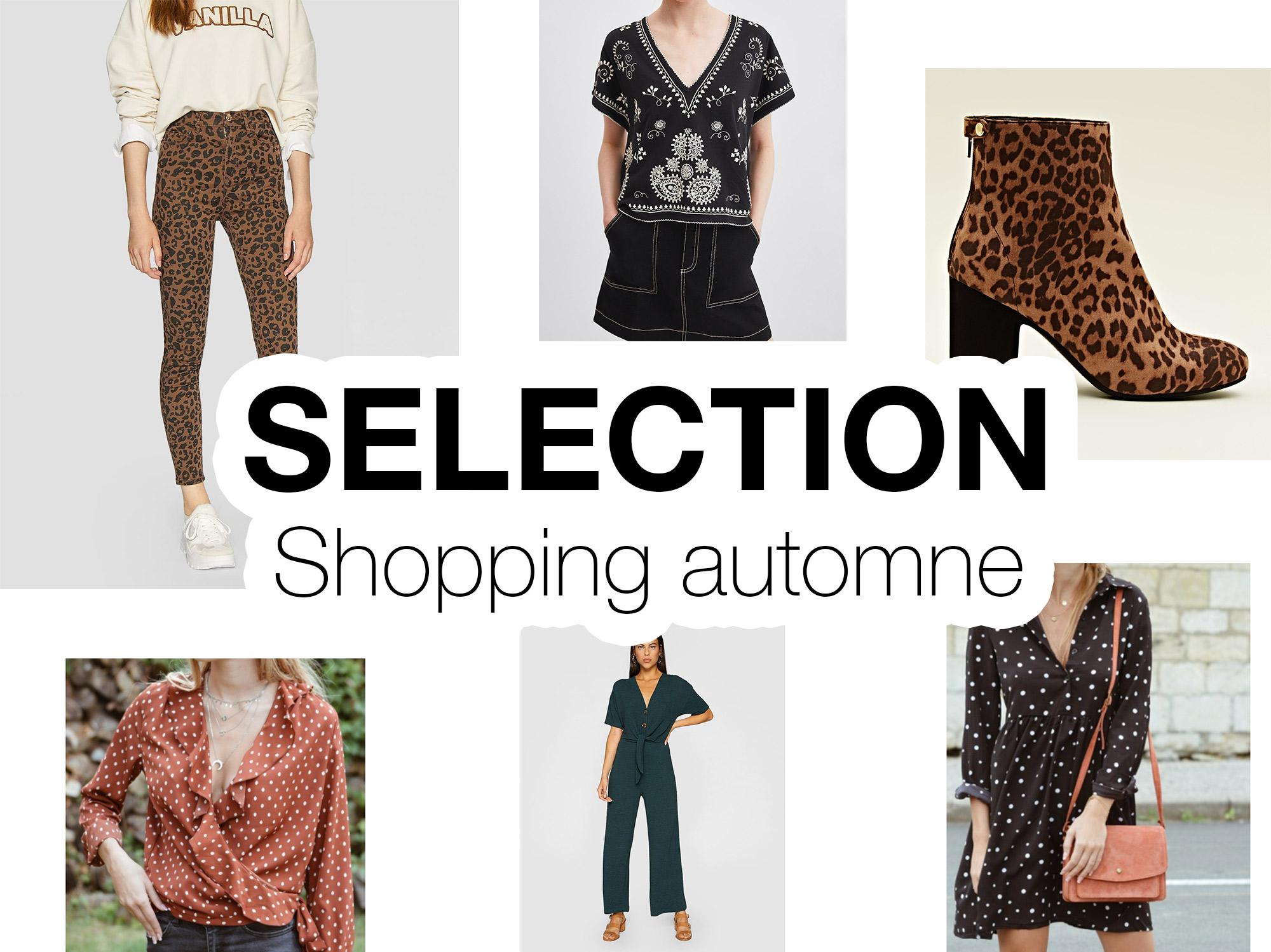 Sélection shopping automne 2018 - Autour de Marine