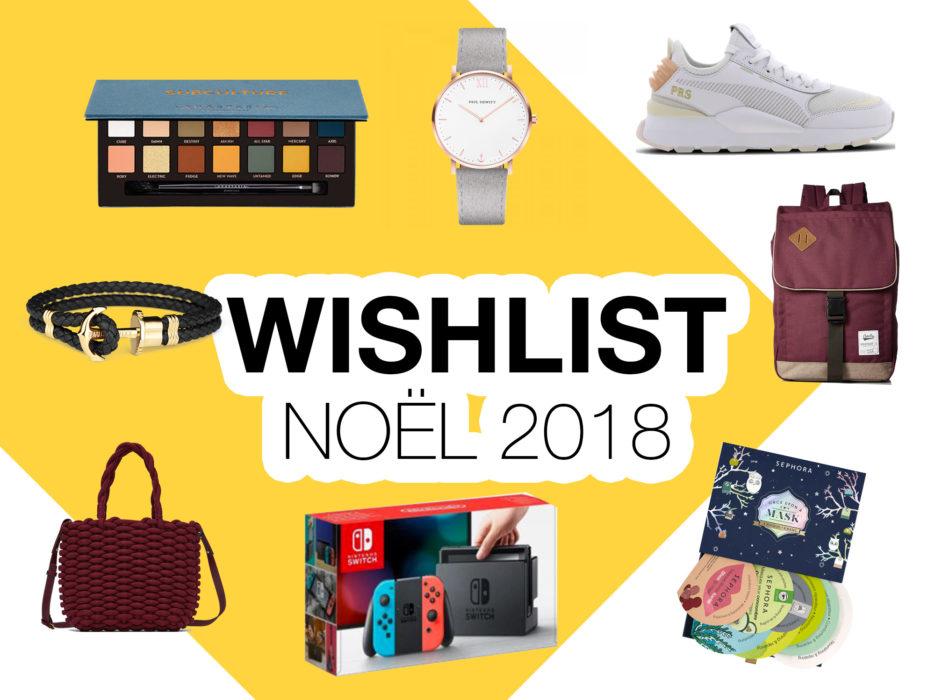 Wishlist Noël hommes et femmes - Autour de Marine