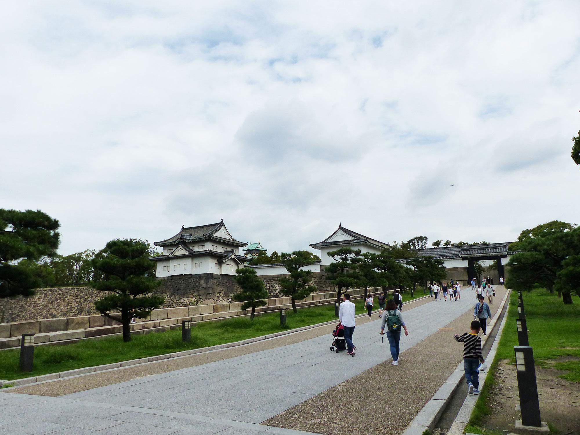 Osaka, Chateau d'Osaka - Autour de Marine