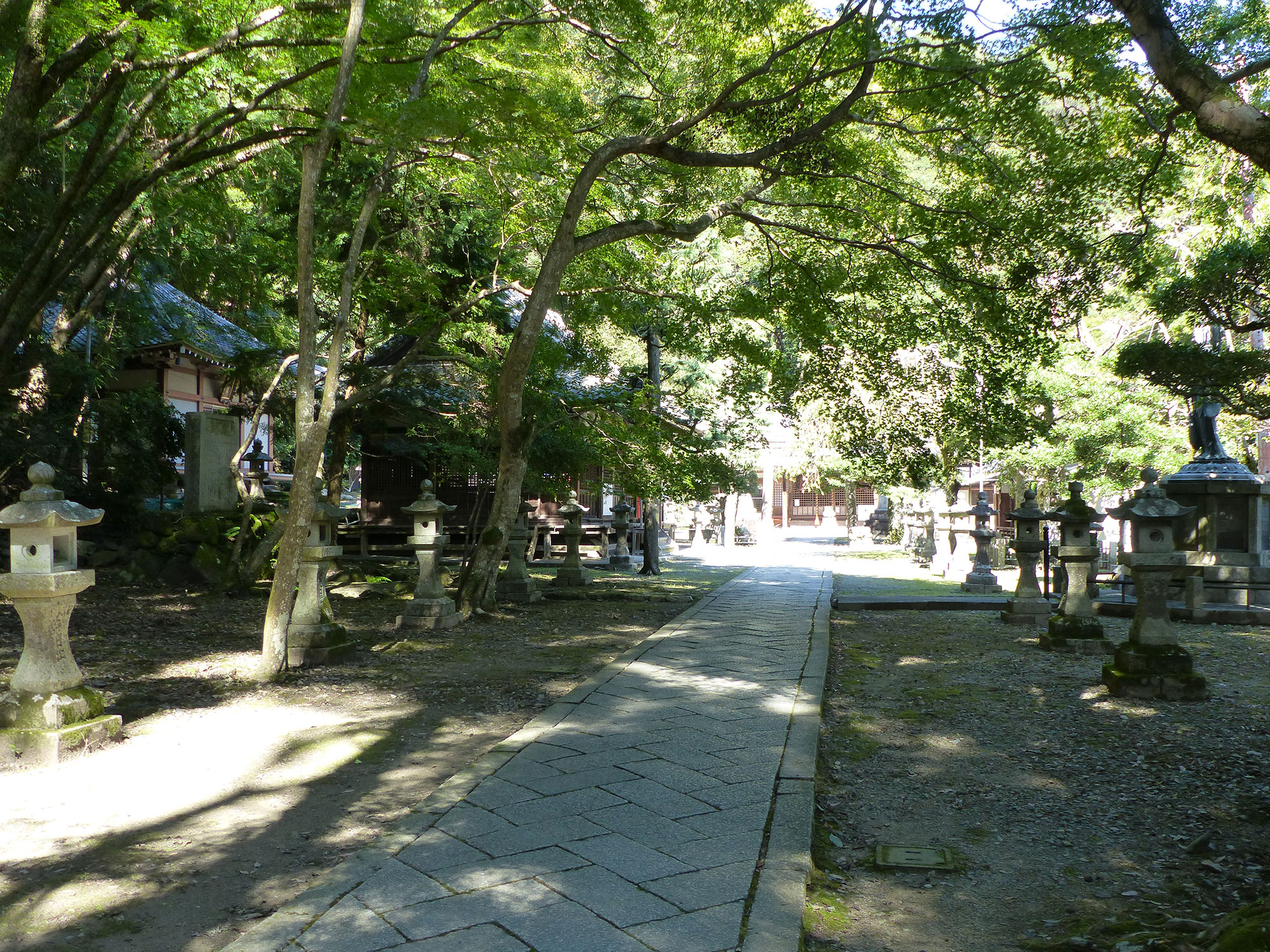Osaka, Minoh parc - Autour de Marine