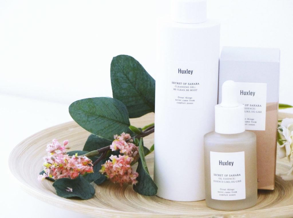 Niasha, produits coréens Huxley - Autour de Marine