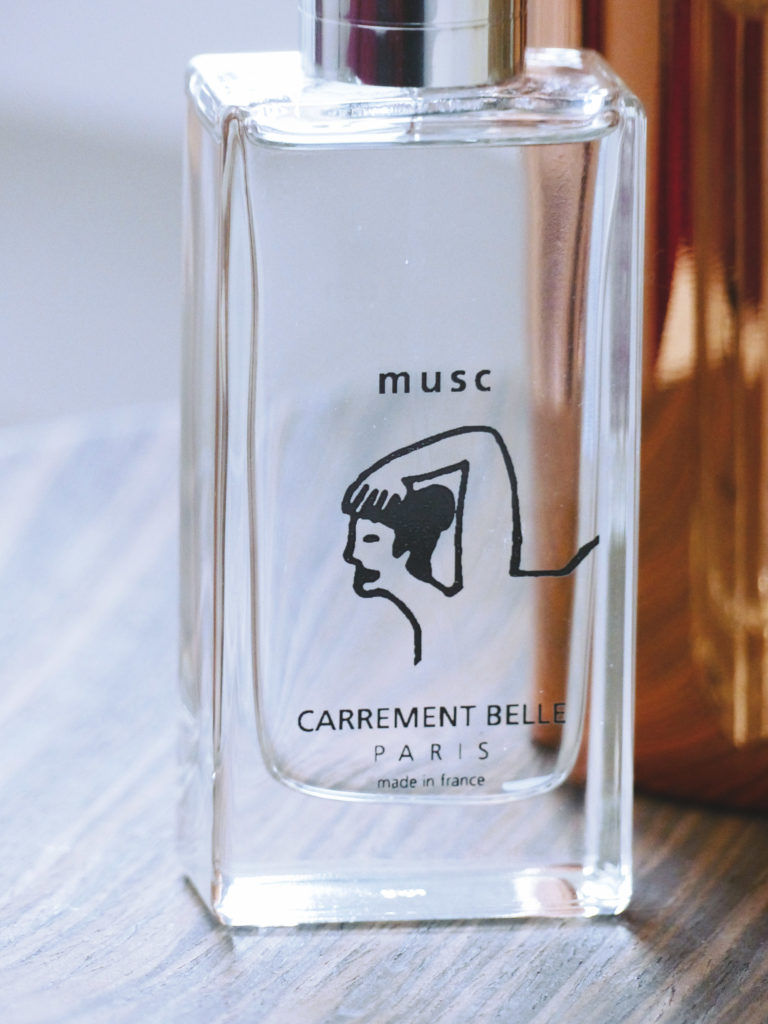Carrément Belle, eau de parfum Musc made in France