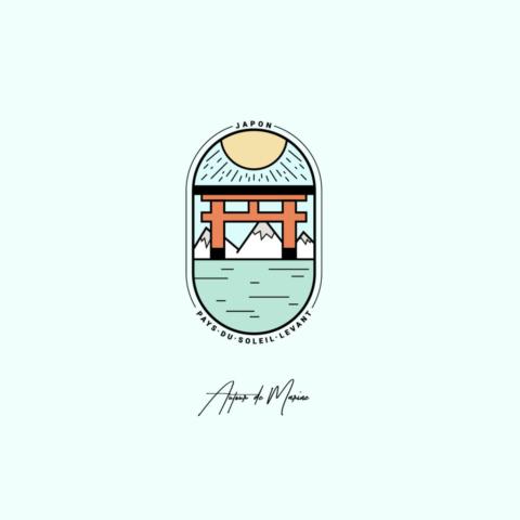 Illustration Japon en couleurs