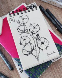 Challenge dessin fleur