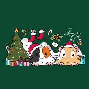 Illustration chonchon de Noël
