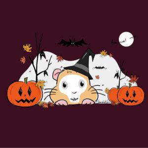 Illustration chonchon d'halloween