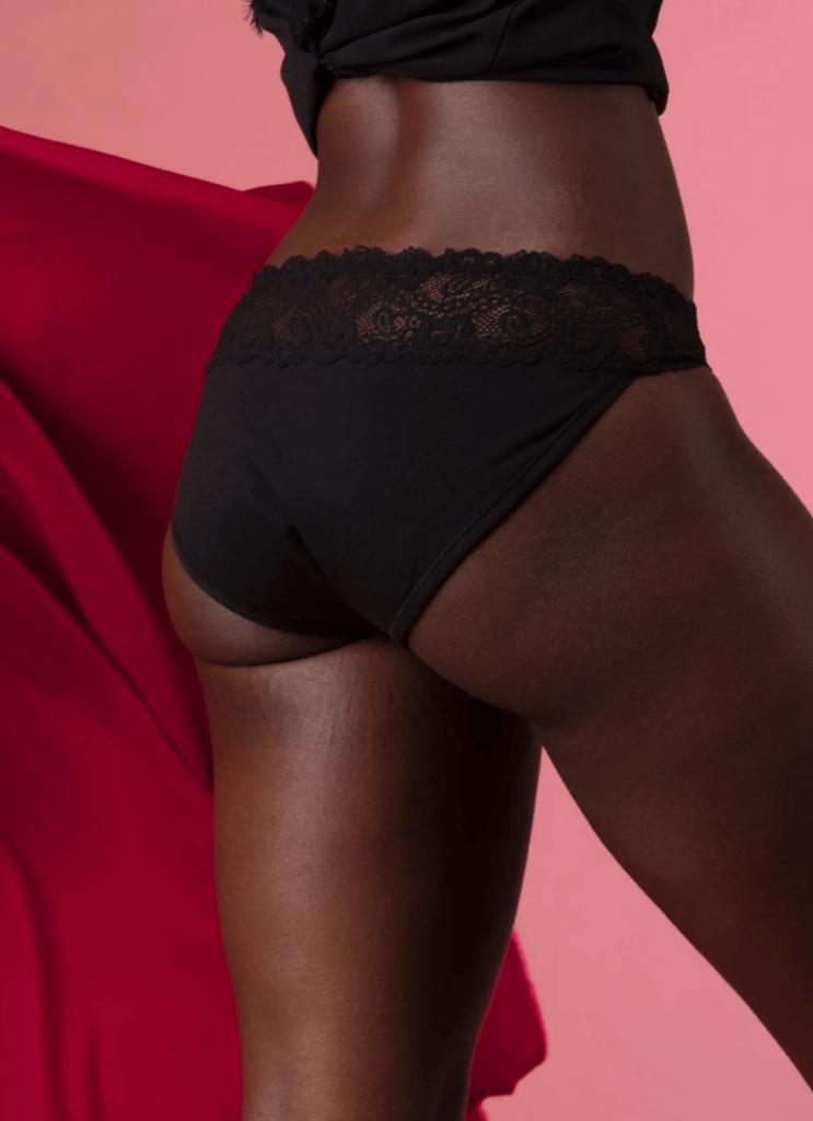 Pourprées culotte menstruelle Rosa